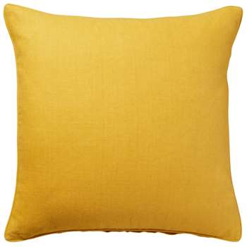 Linen Cushion Cover, Large - Acid Yellow (51 x 51cm)