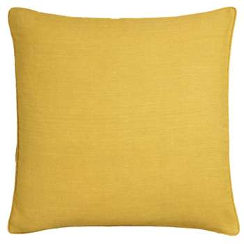 Linen Cushion Cover, Large - Citrine (H51 x W51cm)