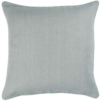 Linen Cushion Cover, Large - Grey Blue (51 x 51cm)