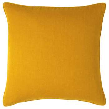 Linen Cushion Cover, Large - Ochre (51 x 51cm)