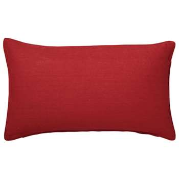 Linen Cushion Cover, Small - Maple Red (35 x 60cm)