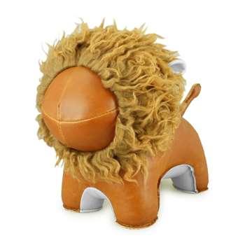 Lion Abo Animal Doorstop by Zuny (H22 x W31 x D14cm)
