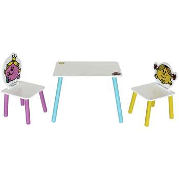 Little Miss Table & Two Chairs (H50 x W28 x D26cm)
