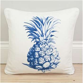 Pineapple Print Motif Cushion (45 x 45cm)