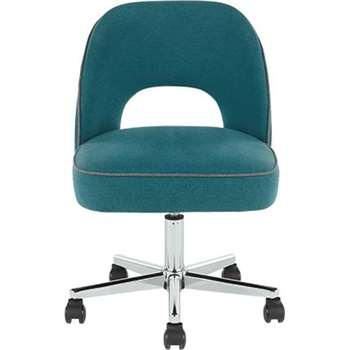 Lloyd Office Chair, Mineral Blue and Marl Grey (60 x 63cm)