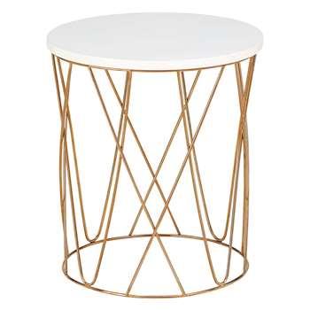 LOFT Lena Copper Side Table (40 x 36cm)