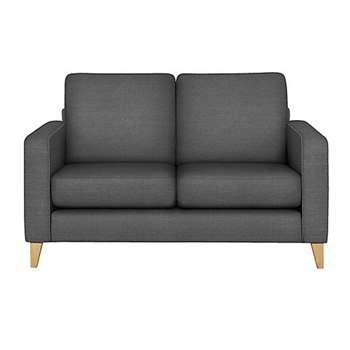 LOFT Tromso Compact Sofa, Charcoal (H88 x W141 x D90cm)