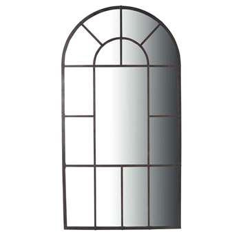 LOIRE metal mirror in black H 205cm