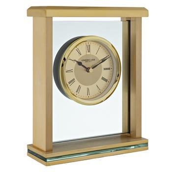 London Clock Company 1922 Mantel Clock Gold