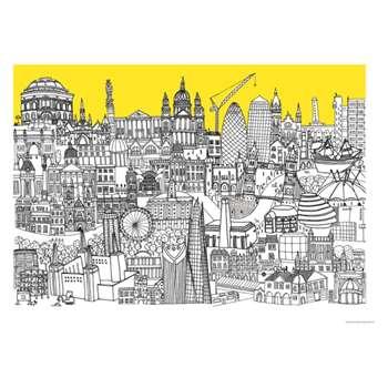 London Jungle 50 x 70cm print by Lizzie Prestt