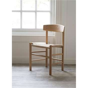 Longworth Oak Chair (H75.5 x W48 x D39cm)