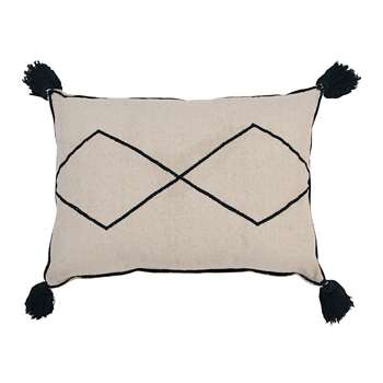 Lorena Canals - Bereber Washable Cushion - Natural (H55 x W40cm)