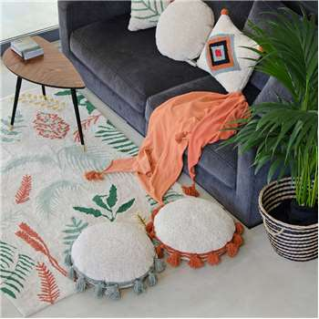 Lorena Canals Botanic Plants Washable Rug (140 x 200cm)