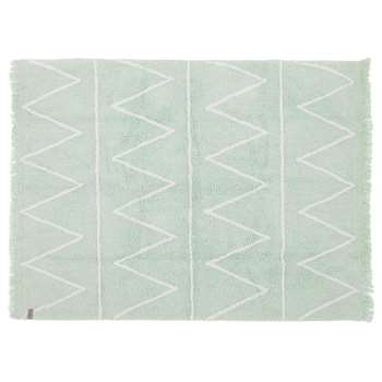 Lorena Canals Hippy Washable Kids Rug - Hippy Mint (H120 x W160cm)