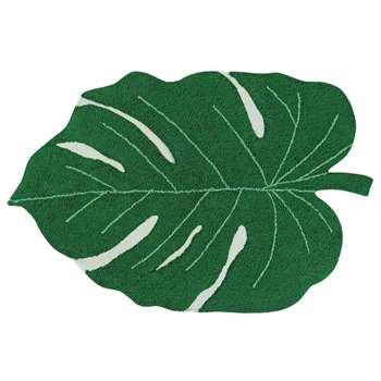 Lorena Canals Monstera Leaf Washable Rug (160 x 120cm)