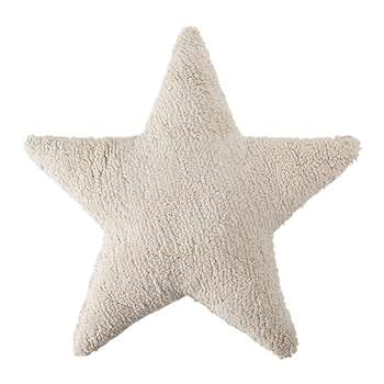 Lorena Canals - Star Cushion - Beige (H54 x W54cm)