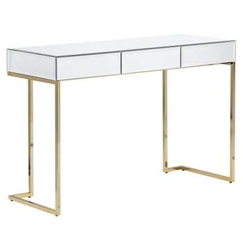 Lorenzo Toughened Mirror Console Table (H80 x W120 x D44cm)