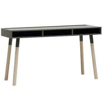 Vox Lori Desk With Storage in Graphite (H78 x W135 x D60cm)