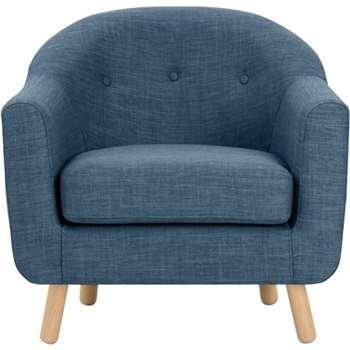 Lottie Armchair, Harbour Blue (75 x 84cm)