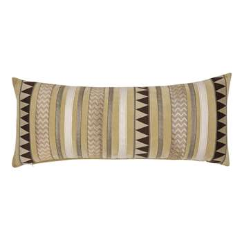 Louis Ribbon Antique Gold Cushion (H35 x W85cm)