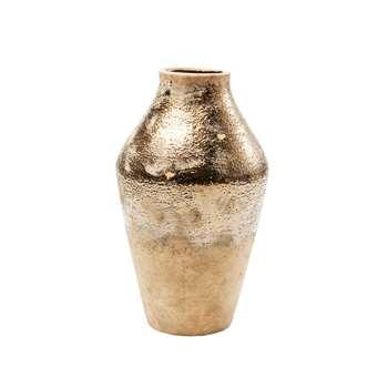 Lourdes vase gold (38 x 22cm)