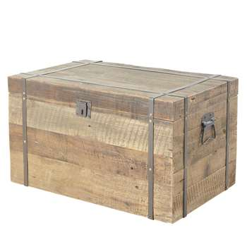 LOUVAIN - Fir Wood Chest (H40.5 x W70.5 x D46.5cm)