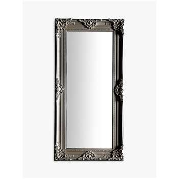 Louvel Leaner Mirror, Antique Silver (H177 x W88 x D6.5cm)