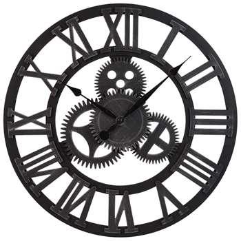 LOWELL - Cog Clock (Diameter 46cm)