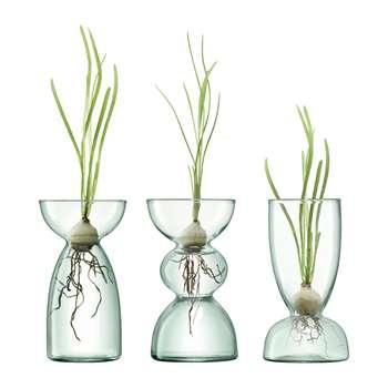 LSA International - Canopy Trio Vase Set (Height 20cm)