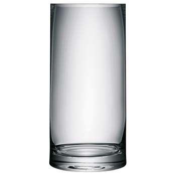 LSA International Column Vase, H36cm, Clear