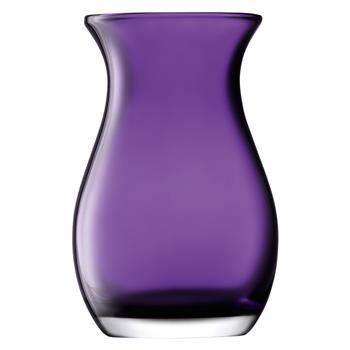 LSA International Flower Colour Posy Vase Violet