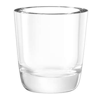 LSA International - Otto Vase - Clear - (18 x 16.5cm)