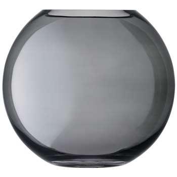 LSA International Polka Glass Vase, Zinc (H24cm)