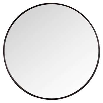 LUCAS Round Metal Mirror (H81 x W81 x D2cm)