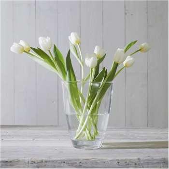 Luddington Small Vase, Clear (20 x 15.5cm)