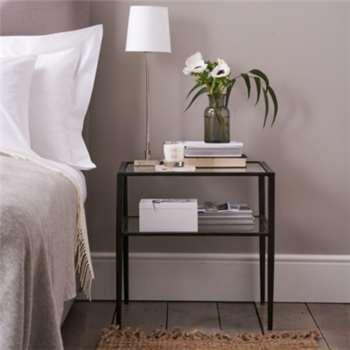 Ludlow Side Table - Black (50 x 50cm)