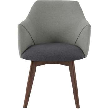 Lule Office Chair, Marl Grey and Hail Grey (79 x 59cm)