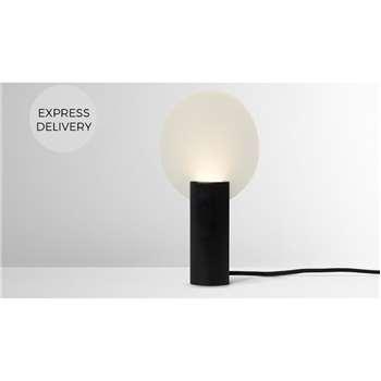 Lune Table lamp LED, Black (H25 x W13 x D13cm)