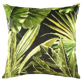 Lush Green Tropical Cushion (H43 x W43cm)