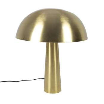 Luxe - Gold Mushroom Table Lamp - Tall (H50 x W40 x D40cm)