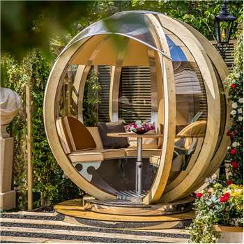Luxury Rotating Lounger Garden Pod (250 x 244cm)