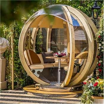 Luxury Rotating Lounger Garden Pod (250 x 244cm)