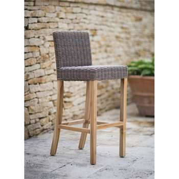 Lymington Bar Stool in Rattan (104 x 43cm)