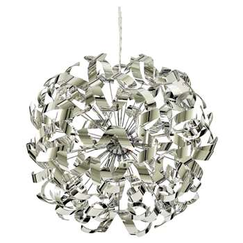 Lyndsay 6 Light Ceiling Light Chrome (H110 x W60 x D60cm)