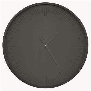 Lynfield Black Pearl Wall Clock (H65 x W65 x D6cm)