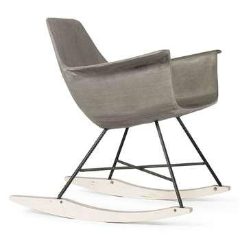 Lyon Beton - Concrete Hauteville Rocking Chair (71 x 71cm)