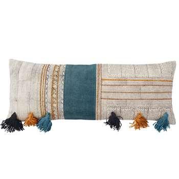 Machu Bolster Cushion Cover - Multi (35 x 90cm)