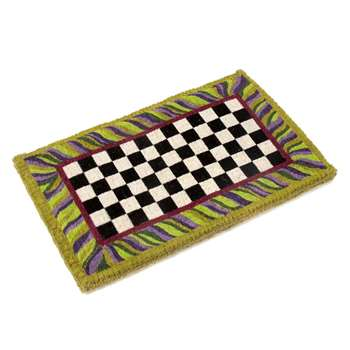 MacKenzie-Childs - Courtly Check Entrance Mat (H61 x W91.5cm)