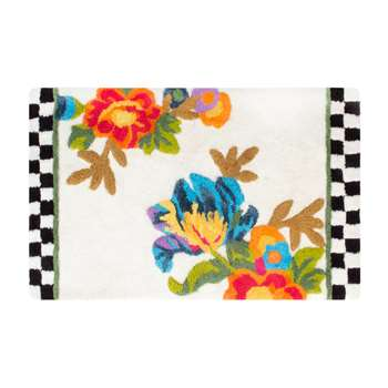 MacKenzie-Childs - Flower Market Bath Mat (H53.3 x W86.3cm)