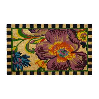 MacKenzie-Childs - Flower Market Entrance Mat (H60.9 x W91.4 x D91.4cm)